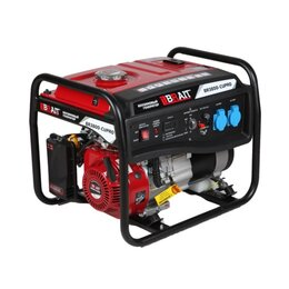 Электрогенераторы - Генератор бензиновый Brait BR 3800-CU PRO, 0
