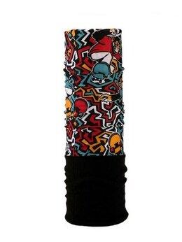 Головные уборы - Бафф, бандана, повязка, шарф, флис утеплённый хаки, 0