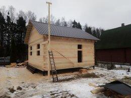 Готовые строения - Дом 6х6 из обрезного бруса 150х150 с установкой. , 0
