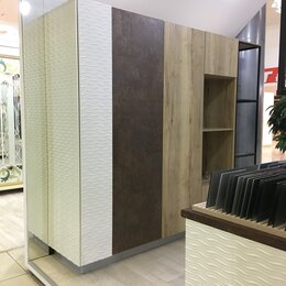 """Мебель для кухни - Кухня Komandor """"Дуб галифакс"""" с высокими шкафами, 0"""