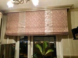 Римские и рулонные шторы - Римская штора «Какао» ШхВ 190х188, 0