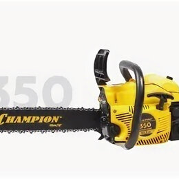 Электро- и бензопилы цепные - Бензопила champion 350 18, 0