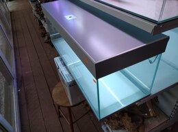 Аквариумы, террариумы, тумбы - Аквариум со светодиодной крышкой-светильником…, 0