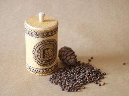 Подарочные наборы - Туес из бересты «Белочка» с кедровыми орехами…, 0
