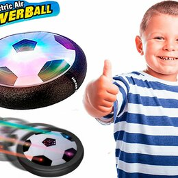 Развивающие игрушки - Футбольный летающий диск Hoverball, 0