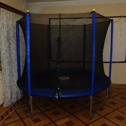 Каркасные батуты - Батут 244 см для Фитнеса и Джампинга с сеткой, 0