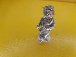 Статуэтки и фигурки - Серебряная коллекционная статуэтка Бык 925 пробы…, 0