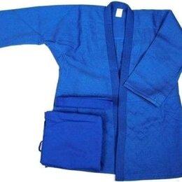 Аксессуары и принадлежности - Кимоно дзюдо плетеное синее рост 155 р. 42/44, 0
