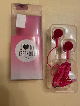 Наушники и Bluetooth-гарнитуры - Красивые розовые наушники, 0
