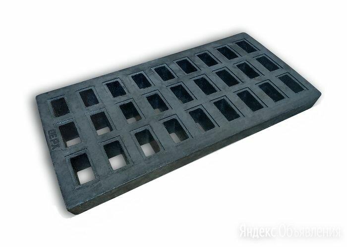 Решетка дождеприемника 805х405х70 мм  полимерно-песчаная черная, 25тн. по цене 2614₽ - Кровля и водосток, фото 0