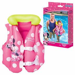 Аксессуары для плавания - Жилет для плавания «Малыш Маус», 51 х 46 см, 0