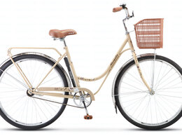 Велосипеды - Велосипед Stels Navigator 325 28 Z010 с корзиной…, 0