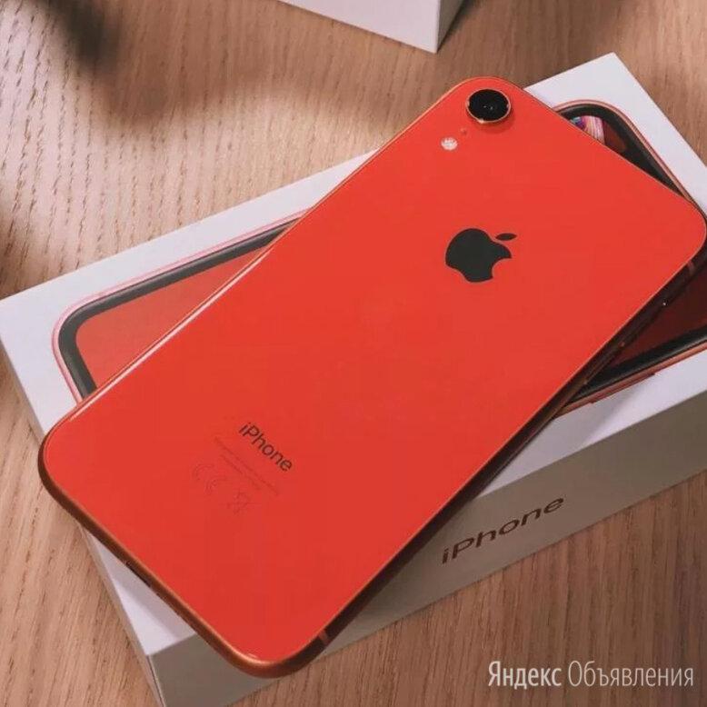 iPhone XR 64 гб/Чек/Гарантия/Доставка/2 сим-карты по цене 27200₽ - Мобильные телефоны, фото 0