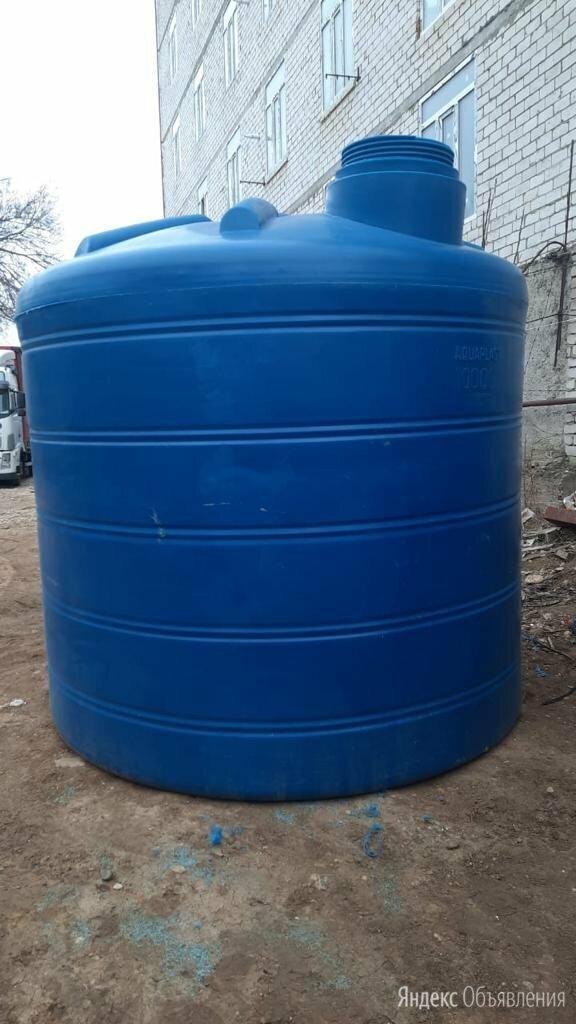 Ёмкость овально-вертикальная ОВ 10000 литров Aquaplast  по цене 71000₽ - Баки, фото 0