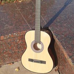 Акустические и классические гитары - Гитара цвет натуральный, 0