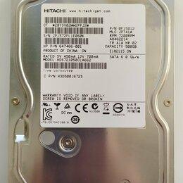 Жёсткие диски и SSD - Жесткий диск для компьютера на 500ГБ рабочий, 0