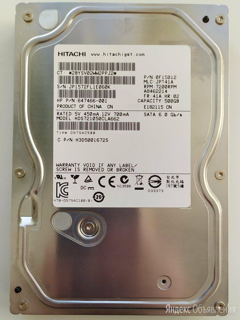 Жесткий диск для компьютера на 500ГБ рабочий по цене 1000₽ - Жёсткие диски и SSD, фото 0