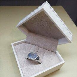 Кольца и перстни - Мужские перстни из серебра , 0