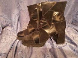 Ботинки - Полуботинки замшевые 40 размер, 0