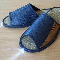 Домашняя обувь - Туфли комнатные ТОПОНАРИКИ со встроенным фонариком СВЕТОЧ (001) , 0