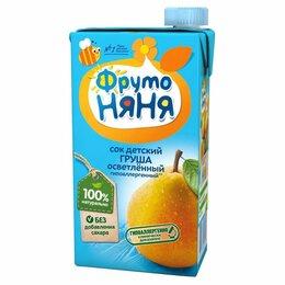 Продукты - Сок детский Фруто няня груша осветленный 500 г, 0