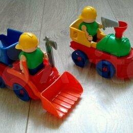 Машинки и техника - Игрушечные машинки, мотоцикл, тачка, 0