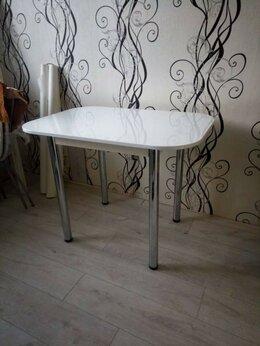 """Столы и столики - Стол обеденный """"БТС"""" хром, 0"""