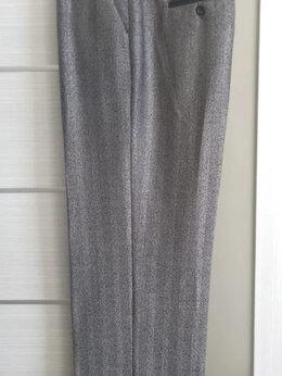 Брюки - Классические женские брюки с красивым отливом, 0