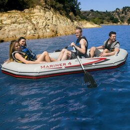 """Аксессуары и комплектующие - Надувная лодка """"Excursion 4 set"""", INTEX - 68324, 0"""