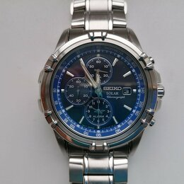 Наручные часы - Часы Seiko SSC141 Solar (Япония), 0