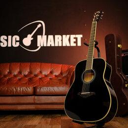 Акустические и классические гитары - Трансакустическая Гитара YAMAHA / Ямаха FG-TA BLACK + Аксессуары, 0