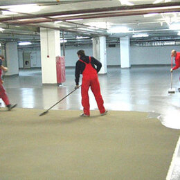 Пропитки - Пропитка по бетону, упрочняющая, обеспыливающая АУРЁЛ, ведро 20 кг на 80 кв.м., 0