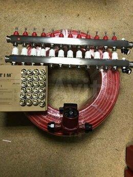 Комплектующие для радиаторов и теплых полов - Комплект теплый водяной пол 120 кв.м, 0