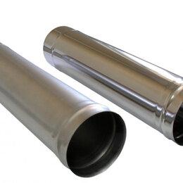 Дымоходы - Труба дымохода 150 мм (нержавейка 1 мм) -1м, 0