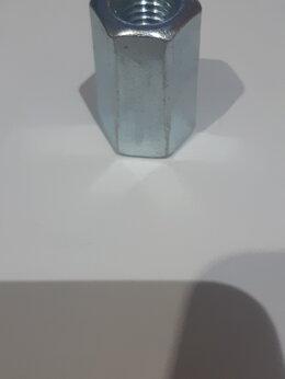 Шайбы и гайки -  Гайка соединительная оцинкованная M10 х30 мм…, 0