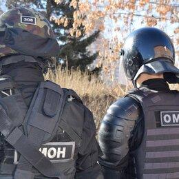 Полицейские и военные - ОМОН, 0