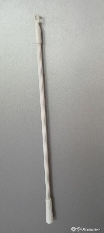 Штороводитель металлический для шторы, белый (1шт) 1-2метра по цене 900₽ - Карнизы и аксессуары для штор, фото 0