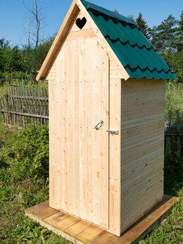 Готовые строения - Туалет дачный деревянный, 0