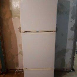 Холодильники - ПРОДАМ ОТЛИЧНЫЙ  ТРЕХКАМЕРНЫЙ ХОЛОДИЛЬНИК STINOL NO FROST , 0