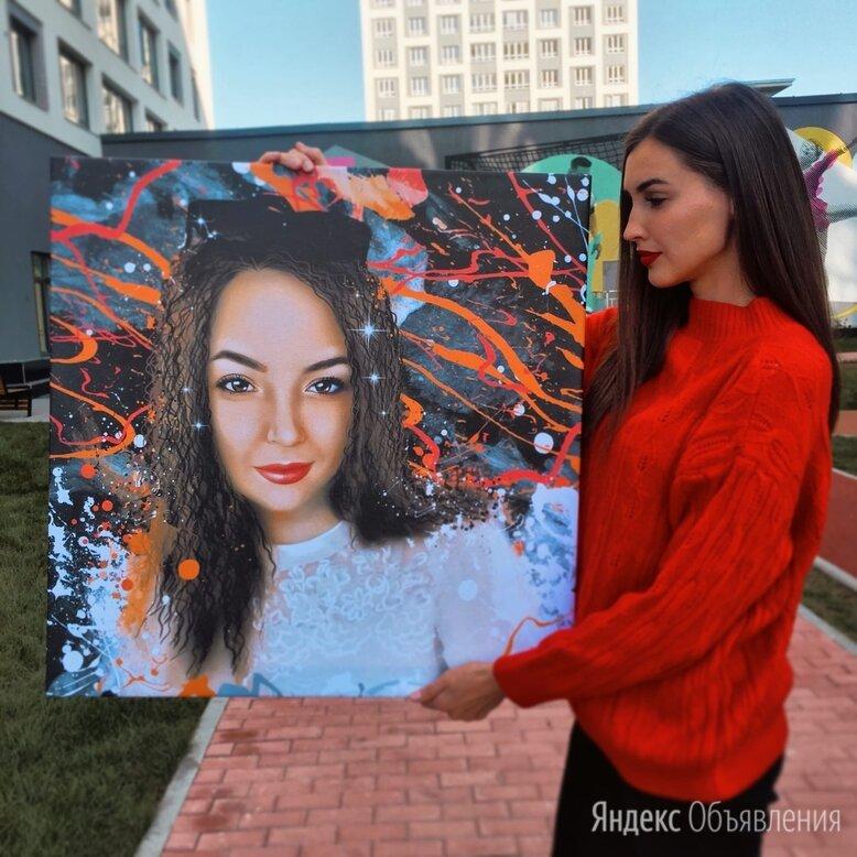 Портрет на холсте по цене 3890₽ - Картины, постеры, гобелены, панно, фото 0