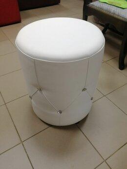 Пуфики - Пуф круглый белый , 0