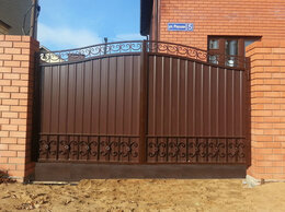 Заборы и ворота - Ворота распашные, откатные, 0