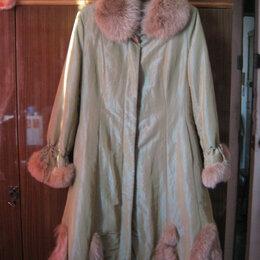 Пальто - Пальто зимнее с меховой подстежкой, 0