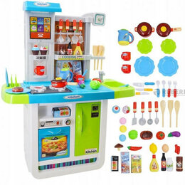 Игрушечная мебель и бытовая техника - Кухня детская WD-B23 с водой и аксессуарами, 46…, 0