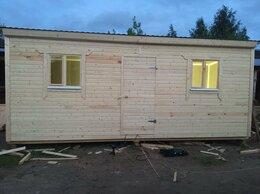 Готовые строения - Бытовки деревянные для дачи и стройки, 0
