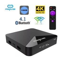 ТВ-приставки и медиаплееры - ТВ Бокс Magicsee N5 Новый, 0