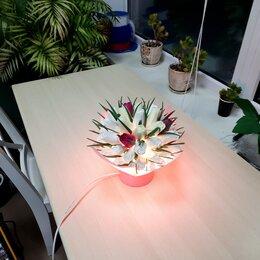 Настольные лампы и светильники - Светильник корзинка, ночник, 0