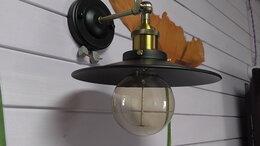 Бра и настенные светильники - Бра в ретро стиле лофт., 0