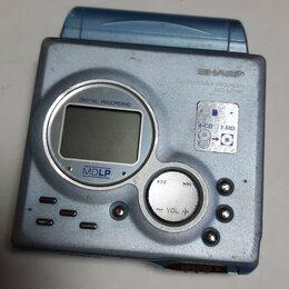 Музыкальные центры,  магнитофоны, магнитолы - Sharp MD-MT88 MD Portable Recorder, 0