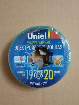 Изоляционные материалы - Изолента Uniel UIT-135P 19ММх20М, 0